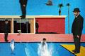 David Hockney, a bigger splash, bearbeitet mit PhotoShop