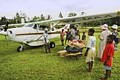 Papua Neu Guinea 4/98 - SEPIK Fluss - oberer Bereich -  (AMBUNTI  Lodge) middle sepik, MAF = Missionary Aviation Fellowship